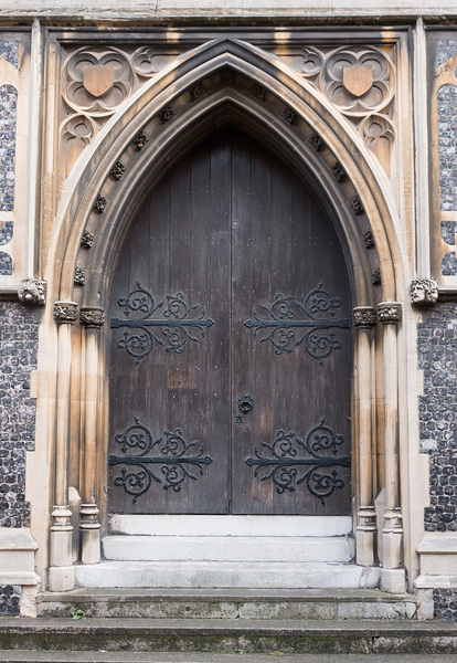 Old church doors