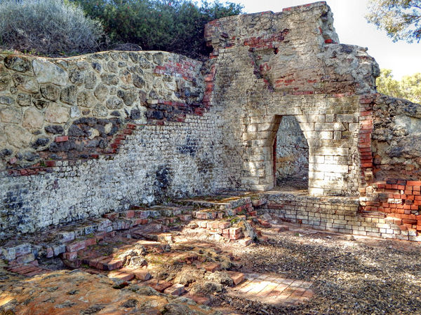 historic lime kiln remains13: remaining ruins of historic lime kilns now in secluded park