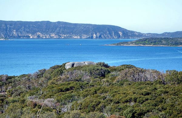 coastal islands3: islands off the coast of  Albany, Western Australia