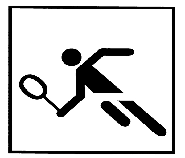 tennis pictogram