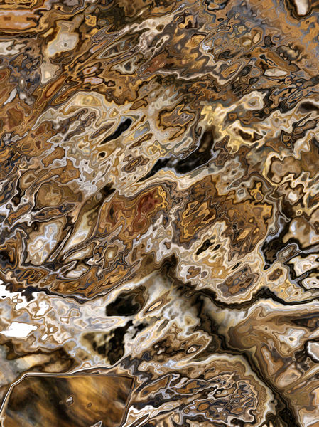 brown agate marbling