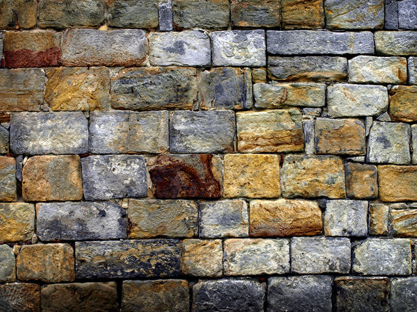 wall:  wall of the castle of Bad Bentheim, Germany