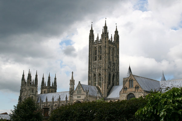 Canterbury cathedral: Canterbury cathedral, Kent, England.