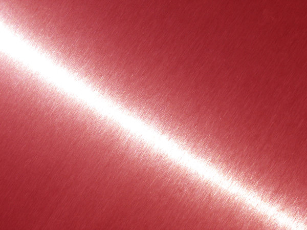 brushed red metal texture