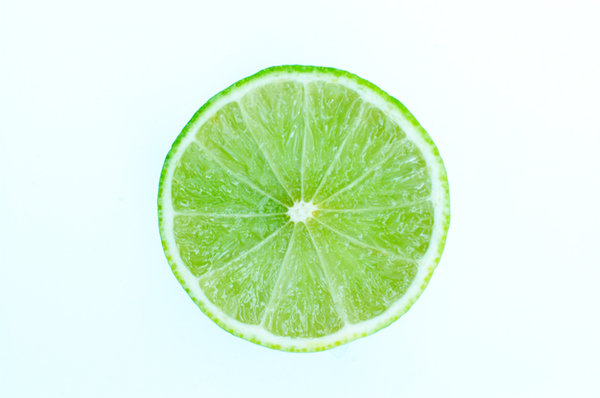 Slice of lime.: A slice of a lime which can be used with a cocktail ...