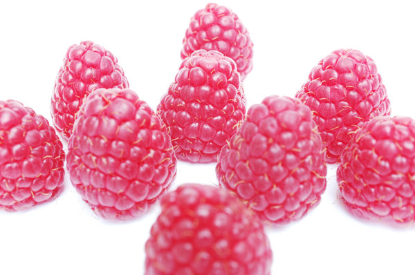 Wow ... all those raspberries!: Do not eat them ... they belong to someone else!