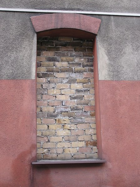 Brick window!