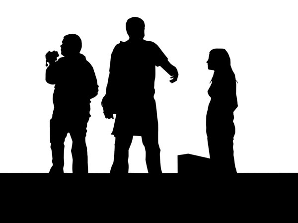 Tourists: Some tourists silhouette!Please comment this shot or mail me if you found it useful. Just to let me know!I would be extremely happy to see the final work even if you think it is nothing special! For me it is (and for my portfolio)!
