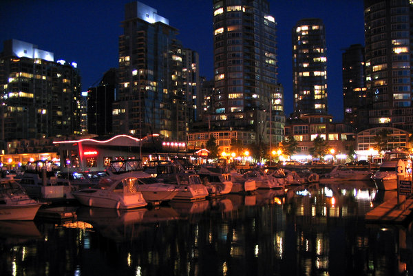 Downtown Vancouver at Night 3