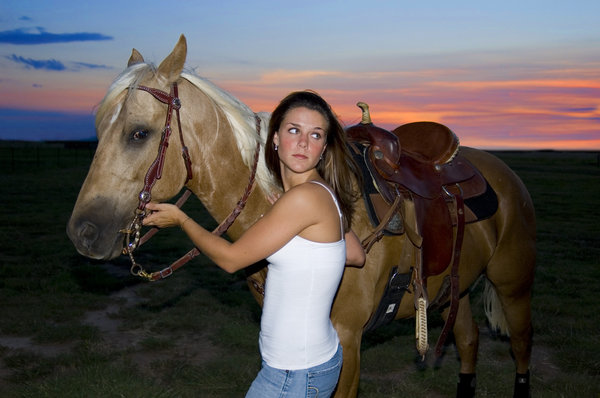 Amy & Rio: Amy Lee and her horse Rio