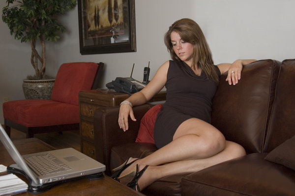 Leather couch 6