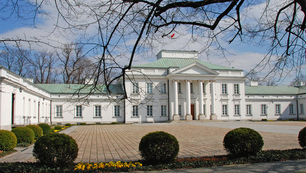 Belvedere Palast in Warsaw 2