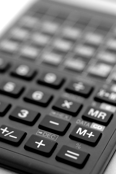 Fingerboard  of calculator: Keyboard of advanced calculator