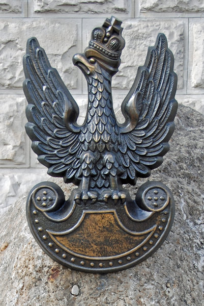 Old polish military sign - eag