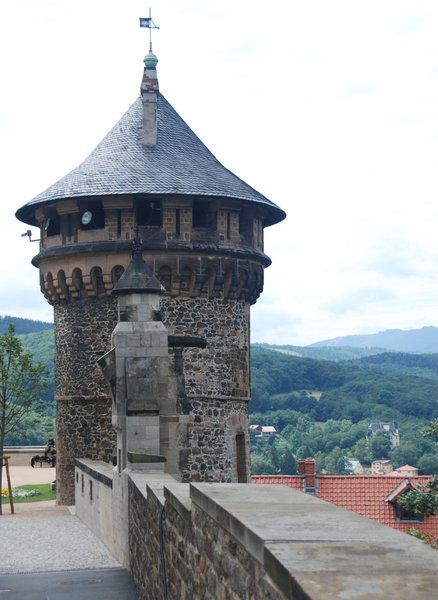 Tower of Wernigerode Castle