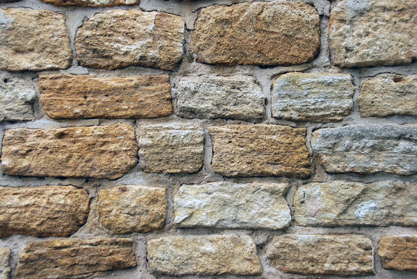 Medieval stone wall texture 1: Stone wall from middle ages, pattern