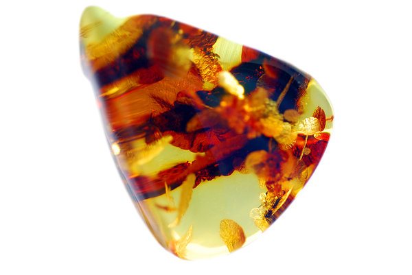 Mass of natural amber from Bal