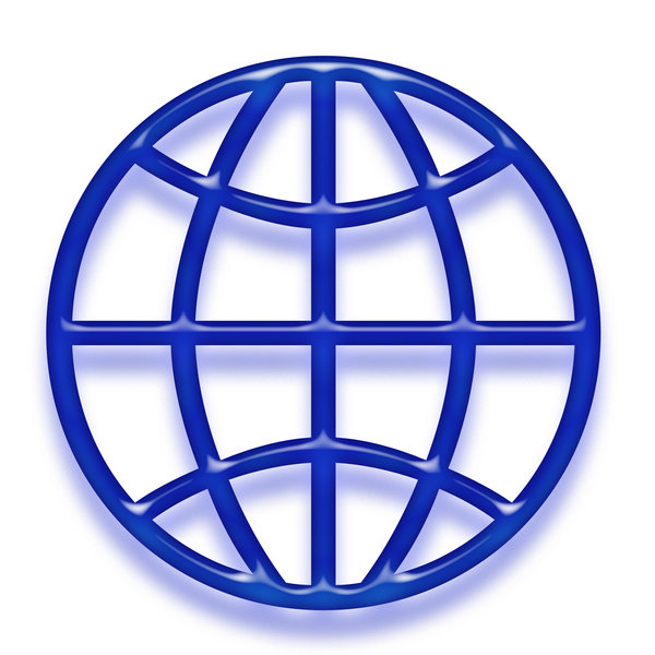 Globe symbol 1: Earth shape