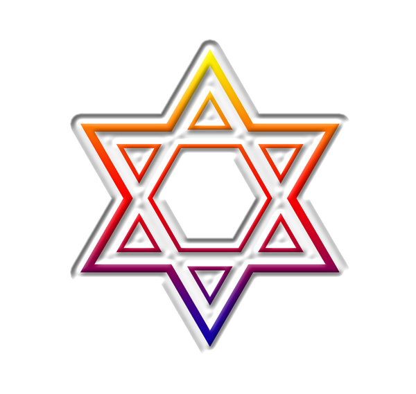 Star of David  8: The Star of David or Shield of David (Magen David in Hebrew) is a generally recognized symbol of