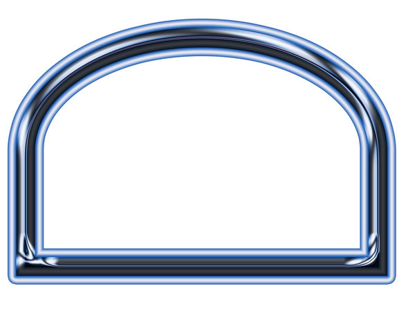 Simple picture frame 5: Arch frame for image, painting or mirror