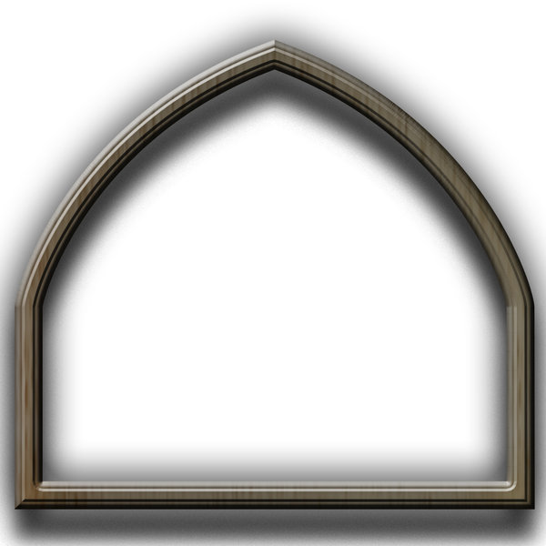Gothic stylized picture frame