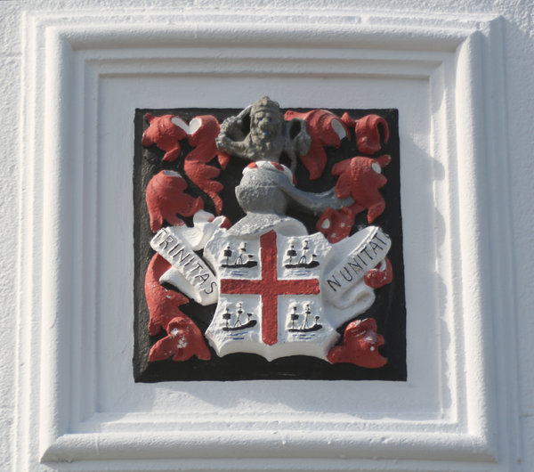 Coat of Arms: Trinity House Coat of Arms, Portland Bill