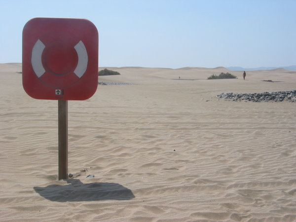 safety in desert