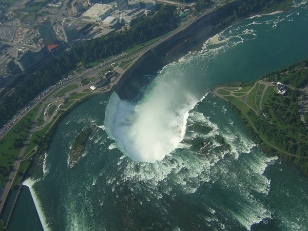 Niagara Falls do ar:
