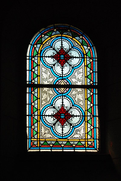 Window with stained glass