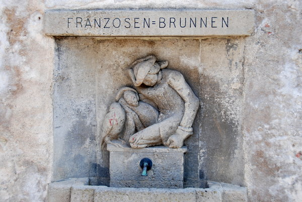 Franzosenbrunnen in Merseburg: Well of Frenchmans - name is from french soldier from late XVIII century