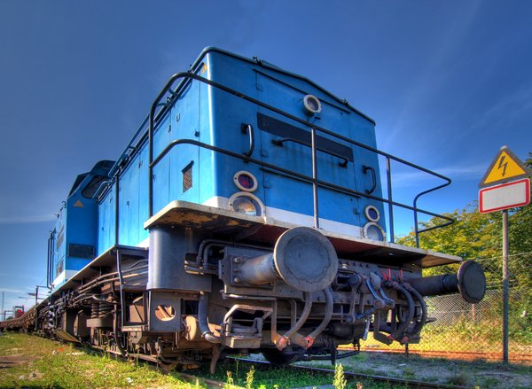 Blue Engine: The picture is HDR, derived from five individual pictures