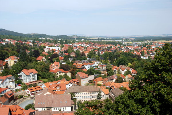 Small town Blankenburg Germany