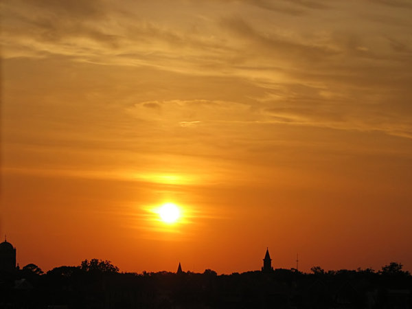 St.Augustine Sunset: Sunset captured over St. Augustine, Fl.