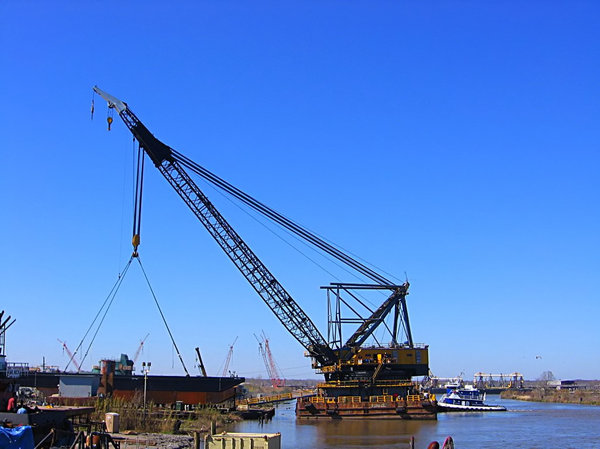 Moving Barge 3