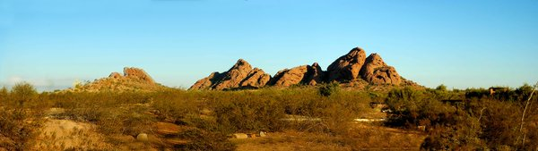 Arizona Panorama 2: Here are some Panoramas taken north of Scottsdale Arizona