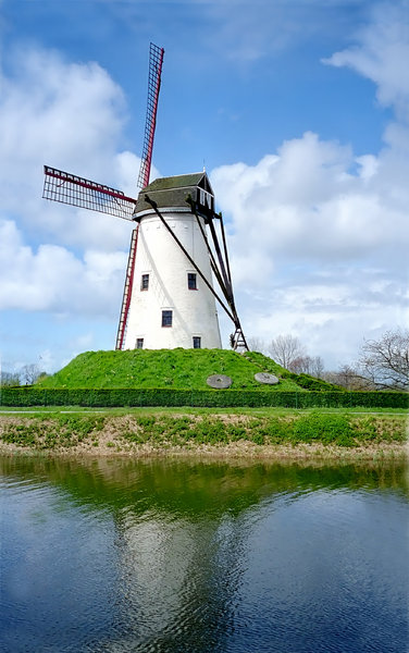 Windmill: Dutch windmill