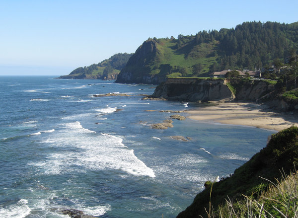 Oregon's coastline