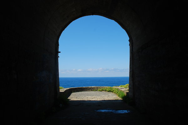 Tunnel to the ocean