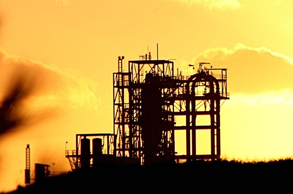 Petro Plant: This is half a mile from my home and I got this picture at sunrise.
