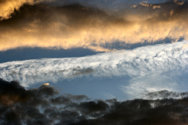 Layered Clouds