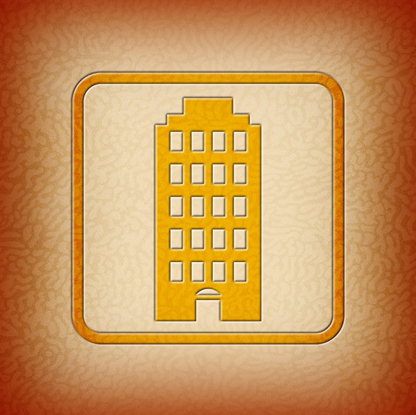 Hi Rise Icon: Hi Rise Building Icon.Please visit my stockxpert gallery:http://www.stockxpert.com ..