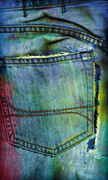 Grunge Jeans: Old Jeans Colorized in Photoshop.Please visit my stockxpert gallery:http://www.stockxpert.com ..