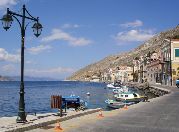 Isle of Symi, Rhodes: The scenic, picturesque Isle of Symi, just a small boat trip away from Rhodes. Very tranquil.