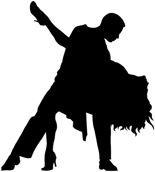 Dancers Silhouette