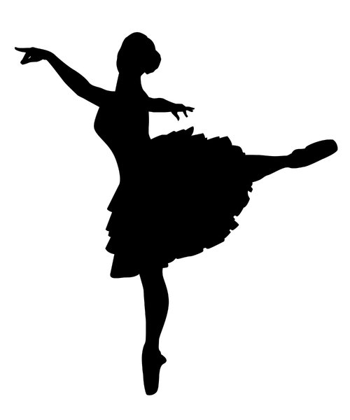 Ballerina 2: Vector art