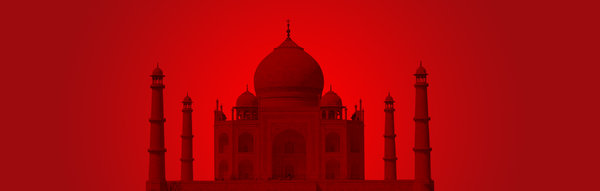 Taj Mahal 6: Taj cutout on different backgrounds