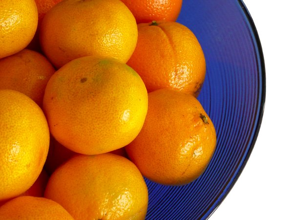 Clementine bowl: Bowl of clementines