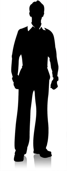 Businessman Silhouette
