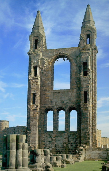 Ruins 2: Ruins of St Andrews Cathedral, Scotland