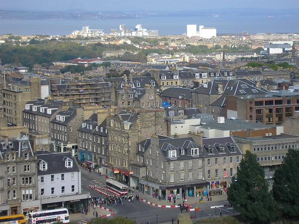 Edinburgh from above 1